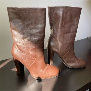 Michael Kors Leather High Heeled Boots